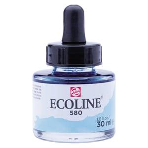 Ecoline flüssige Wasserfarbe 30ml pastellblau