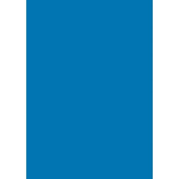 HEYDA Transparentpapier extrastark blau 50x70cm 115g/m²