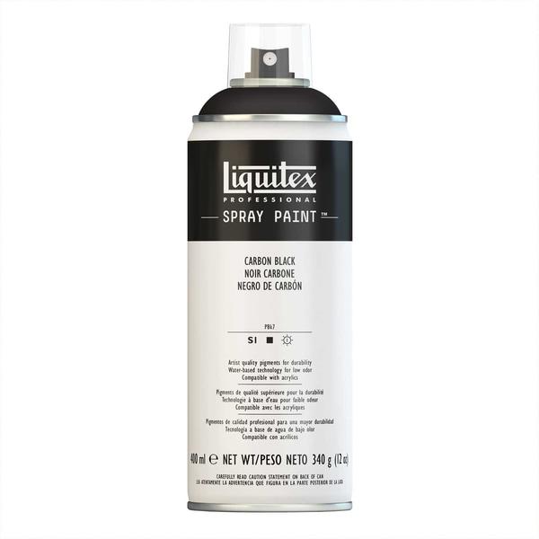Liquitex Acrylspray 400ml karbonschwarz