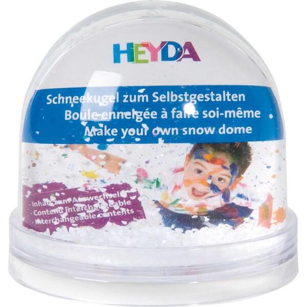 HEYDA Schneekugel mit Fotofach XXL 11x14cm