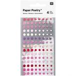 Paper Poetry Sticker Kreise 480 Stück