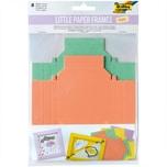 folia Little Paper Frames Bilderrahmen Pastell 8 Stück