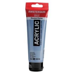 AMSTERDAM Acrylfarbe 120ml graublau