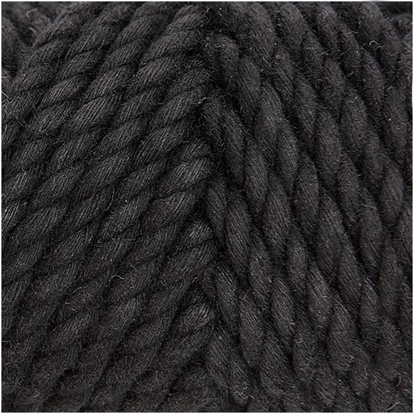 Rico Design Creative Cotton Cord 130g 25m schwarz