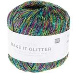 Rico Design Creative Make it Glitter 25g 100m aqua