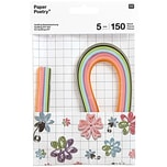Paper Poetry Quilling Bastelset Blumen 5mm 150 Stück