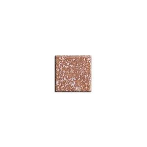 Rico Design Glas-Mosaiksteine 10x10mm 200g ca. 72 Stück kakaobraun