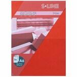 Artoz Doppelkarte S-Line A6 200g/m² 5 Stück rot
