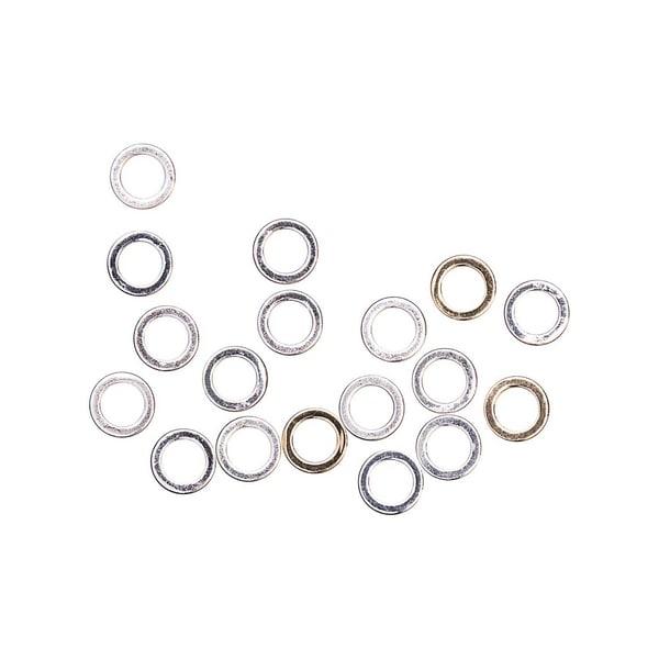 Jewellery Made by Me Ringe zum Verbinden gold-silber Mix 30 Stück