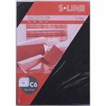 Artoz Kuvert S-Line C6 100g/m² 5 Stück schwarz