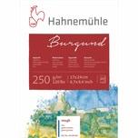 Hahnemühle Aquarellblock Burgund rau 20 Blatt 17x24cm