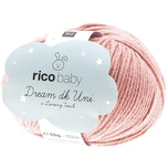 Rico Design Baby Dream dk uni - A Luxury Touch 50g 115m altrosa