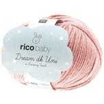 Rico Design Baby Dream dk uni - A Luxury Touch 50g 115m altrosa