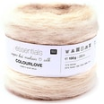 Rico Design Essentials Super Kid Mohair Loves Silk Colourlove 100g 280m natur