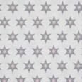 Gütermann Stoff Long Island Sterne rosa 70x100cm