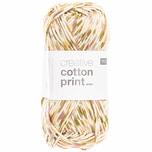 Rico Design Creative Cotton Print aran 50g 85m beere-grün spray