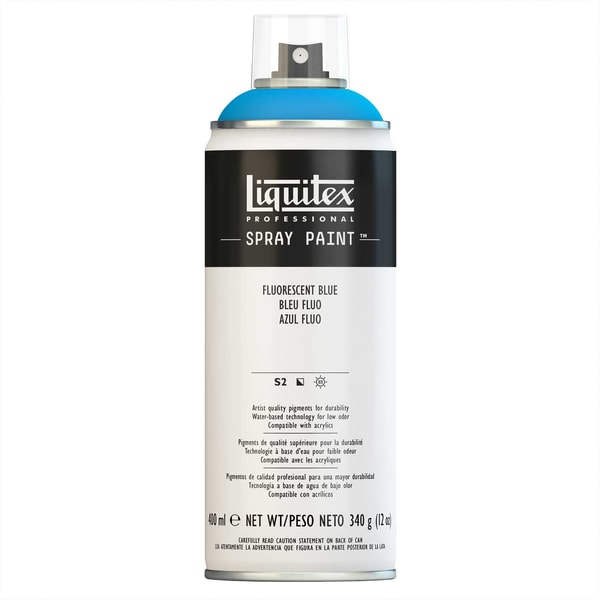 Liquitex Acrylspray 400ml blau fluo