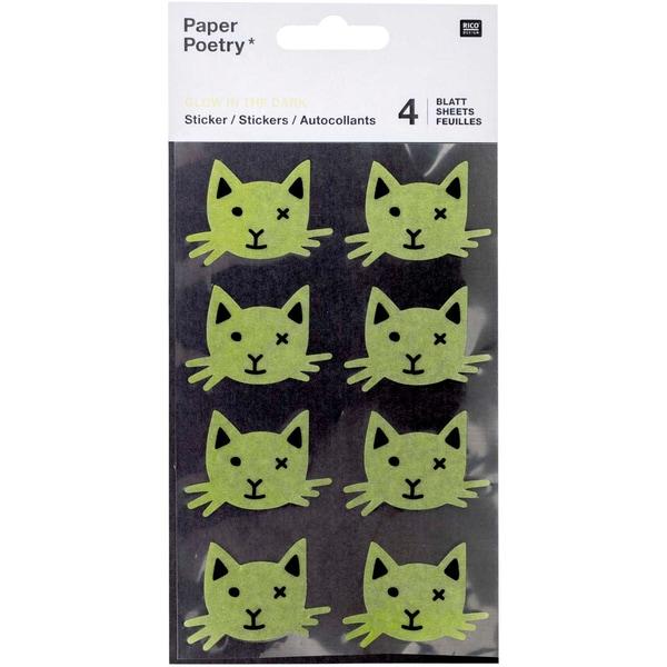 Paper Poetry Washi-Sticker Katzen