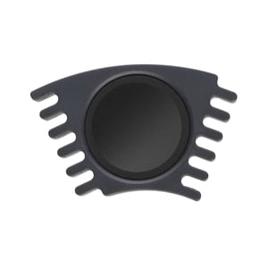 Faber Castell Farbkasten Einzelfarbe schwarz