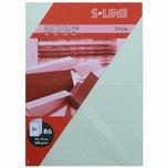 Artoz Doppelkarte S-Line B6 200g/m² 5 Stück pastellgrün