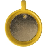 Jewellery Made by Me Anhänger für Buttons gelb 32,5x25,5mm