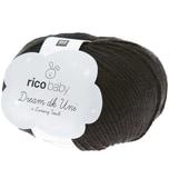 Rico Design Baby Dream dk uni - A Luxury Touch 50g 115m schwarz