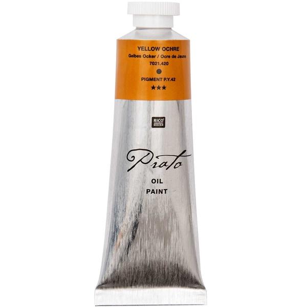 Rico Design Prato Ölfarbe 60ml gelber ocker