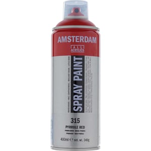 AMSTERDAM Spray 400ml pyrrolrot