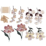 Paper Poetry Papieranhänger Blumen 8 Stück