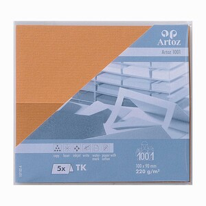 Artoz Tischkarte Serie 1001 220g/m² 5 Stück malt
