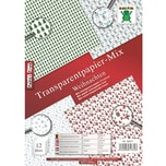 Nice Papers Transparentpapier Mix Weihnachten A4 12 Blatt