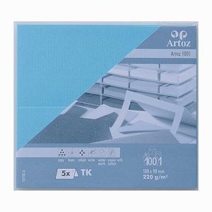Artoz Tischkarte Serie 1001 220g/m² 5 Stück azur