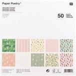 Paper Poetry Origami Bunny Hop 15x15cm 50 Blatt