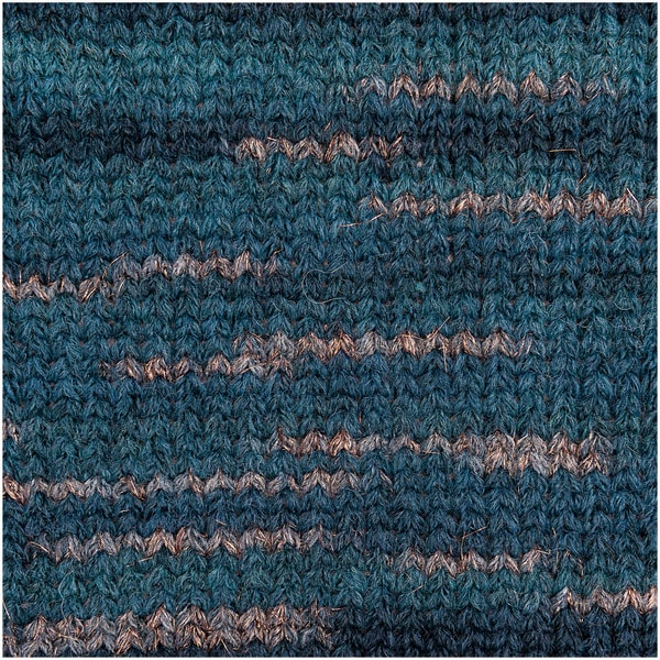 Rico Design Creative Light Melange Glitz 50g 150m blau Mix