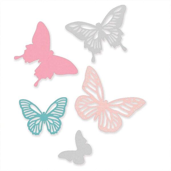 Sizzix Thinlits Die Set Butterflies by Sophie Guilar