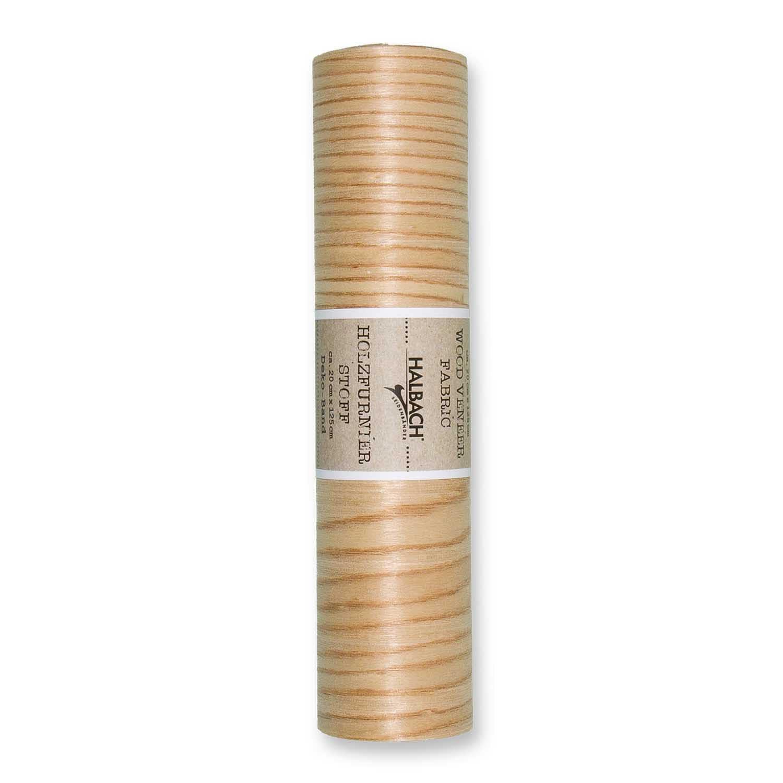 HALBACH Stoff Holzfurnier natur 20cm 1,25m