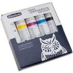 Schmincke Aqua Linoldruckfarbe Karton Set 5x20ml