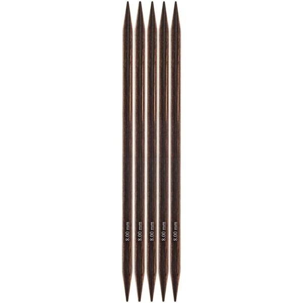 KnitPro Nadelspiel 20cm Birkenholz 8,0