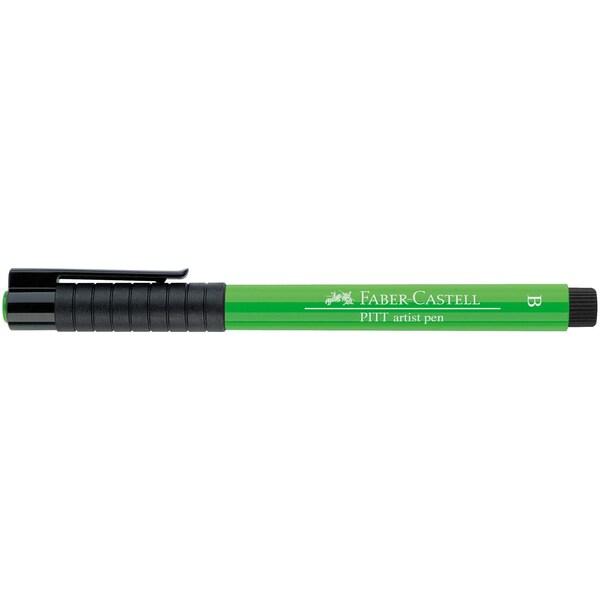 Faber Castell PITT artist pen brush laubgrün
