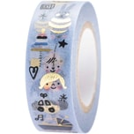 Paper Poetry Tape Hello Baby Junge 1,5cm 10m