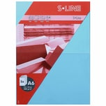Artoz Doppelkarte S-Line A6 200g/m² 5 Stück hellblau