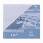 Artoz Tischkarte Serie 1001 220g/m² 5 Stück blütenweiß