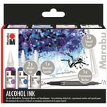 Marabu Alcohol Ink Set Underwater
