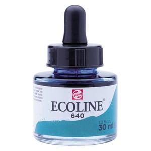 Ecoline flüssige Wasserfarbe 30ml blaugrün