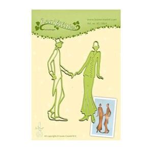 DECOHOBBY Stanz- und Prägeschablone Ehepaar