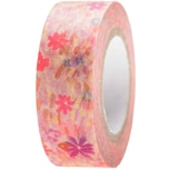 Paper Poetry Tape Crafted Nature Blumenwiese rosa 1,5cm 10m