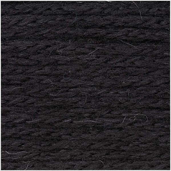 Rico Design Fashion Alpaca Dream 50g 115m schwarz