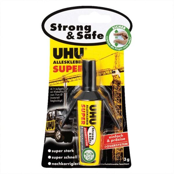UHU Alleskleber super strong & safe Dosiersystem 3g