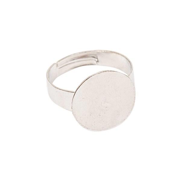 Jewellery Made by Me Ring zum Kleben breit 15mm Ø=19mm größenverstellbar