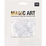 Rico Design Magic Art Blattmetall-Flocken silber